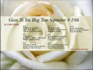 given to you blog tour