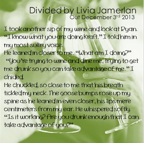 Blog Tour Giveaway Divided By Livia Jamerlan Girlygirlbookreviews