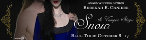 Snow the Vampire Slayer Tour Banner
