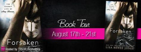 forsaken book tour